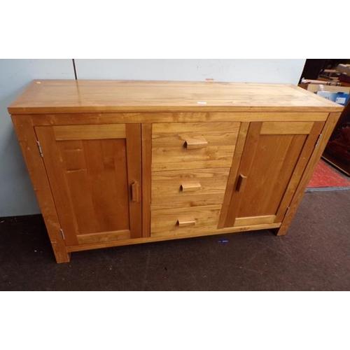 510 - Solid oak sideboard...