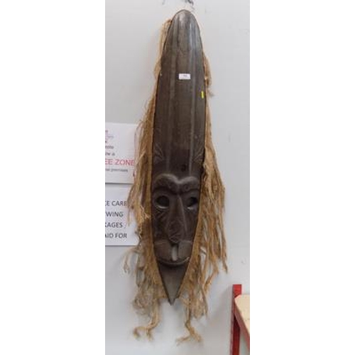 1 - Large African style mask...