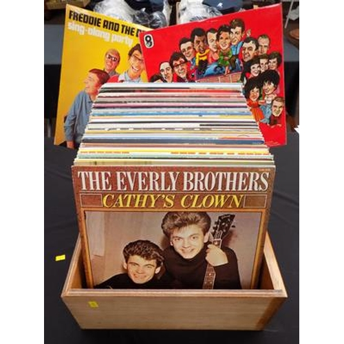 8 - Selection of LP's 1950's/60's...