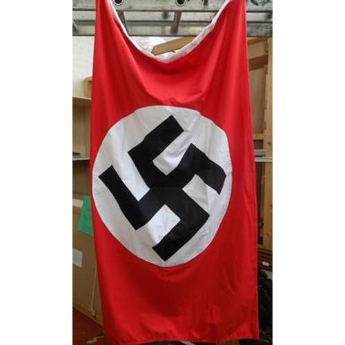26 - Quality re-enactment multi piece Nazi Party flag...