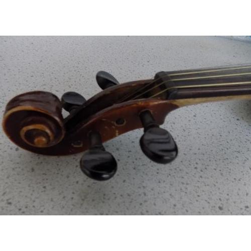 27 - Carl Hofner Antonio Stradivarius model 1713 violin in case...