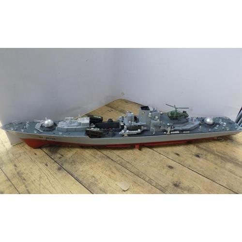 36 - Twin motor radio controlled battleship...