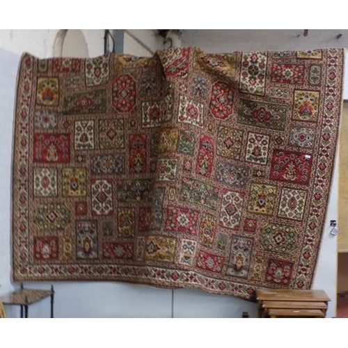 509 - Carpet square traditional style approx 18 feet x 10 feet...