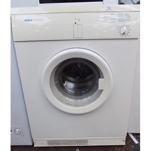 Bosch WTA dryer