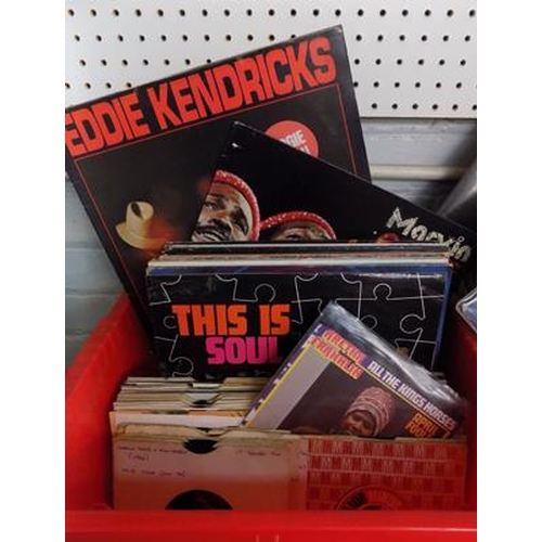 2 - Box of Motown, Soul, Funk and Disco records incl. Marvin Gaye, Temptations, Aretha Franklin etc....