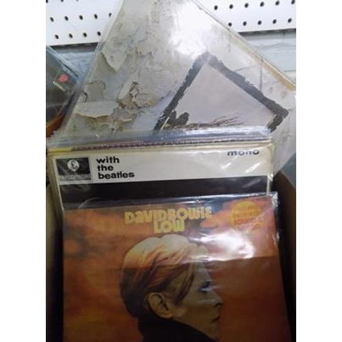 41 - Collection of Rock albums incl. Beatles, Zeppelin, Bowie, Stones etc....