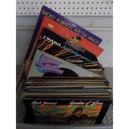 5 - Box of mixed LPs - mainly Motown and Soul...
