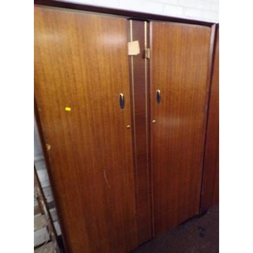 502 - Large men's double wardrobe, by Beautility...