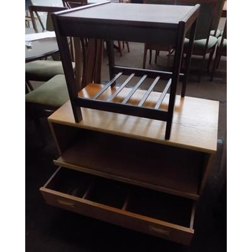 512 - Occasional table & TV unit...