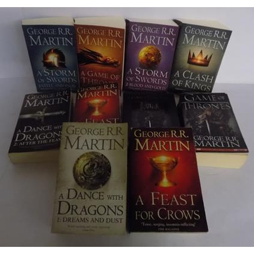 53 - 10x Games of Thrones/ ice/ fire books and series 1 DVD...
