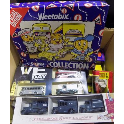 7 - Collection of boxed diecast - Corgi, EFE...