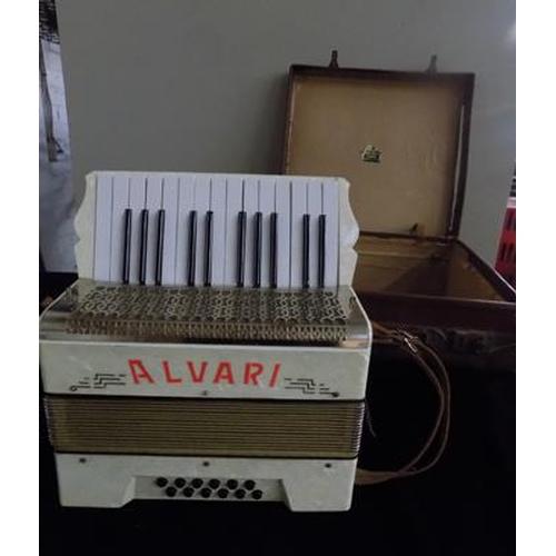 44 - Alvari accordion in case...