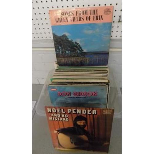 53 - Assorted folk song albums...