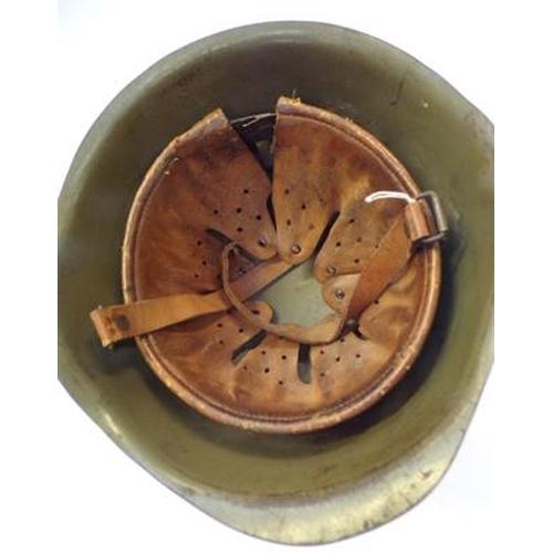 14 - American 1960's GI helmet & inner...
