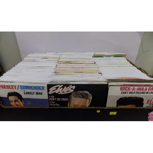 2 - Box of singles, 1960's...