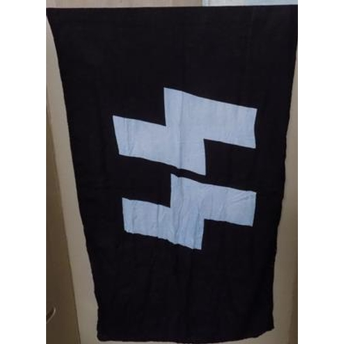 21 - German SS flag 5 feet x 3 feet...