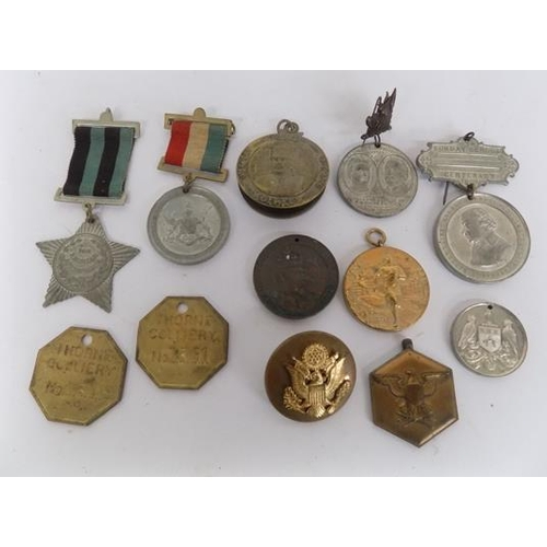 23 - Lot of medallions/tokens etc......