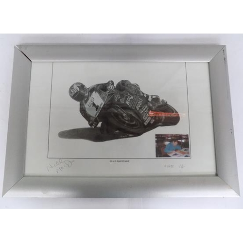 26 - Ltd drawing of Niall Mackenzie by K.Webster (13 of 350) - signed...