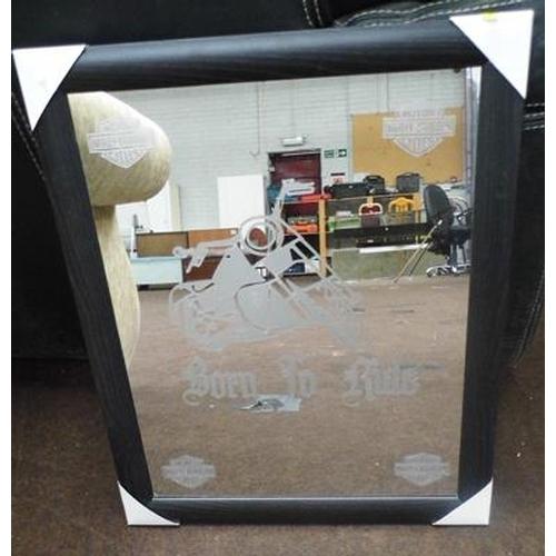 29 - Harley Davidson mirror...
