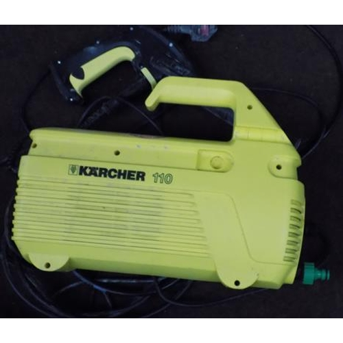 486a - Karcher 110 pressure washer - W/O...