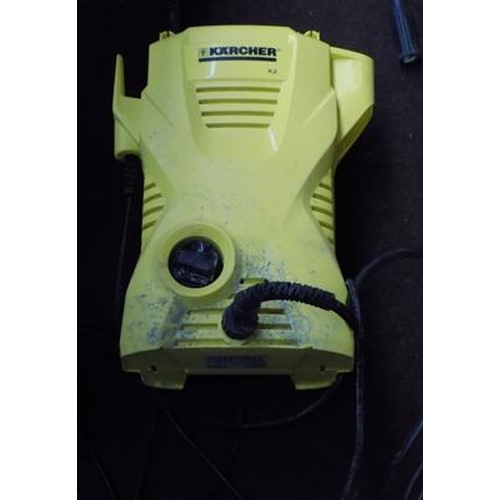488a - Karcher K2 pressure washer - W/O...