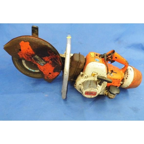 496 - Stihl saw (gasoline) - W/O...