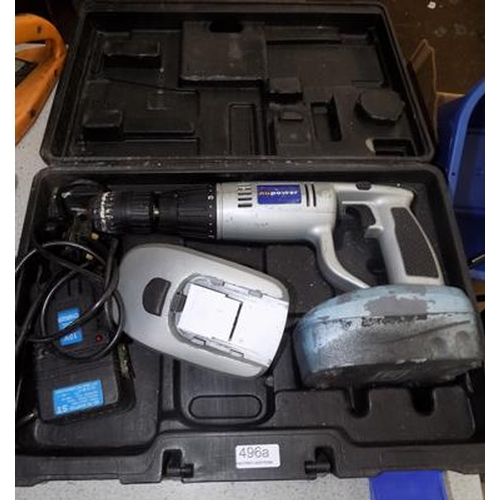 496a - NuPower drill...
