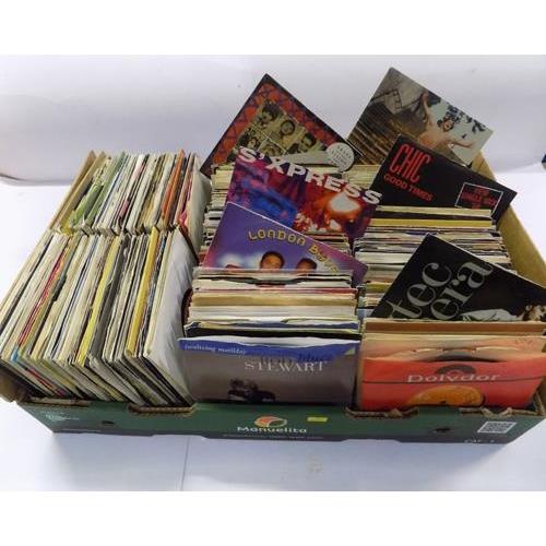 508 - Large box of singles...