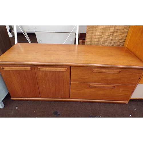 514 - 2 drawer low sideboard - retro style...