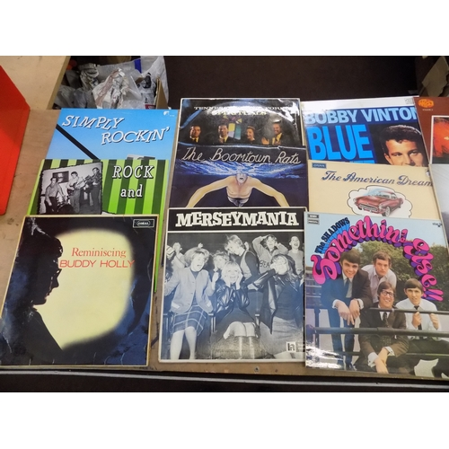 41 - Box of LPs, mixed...
