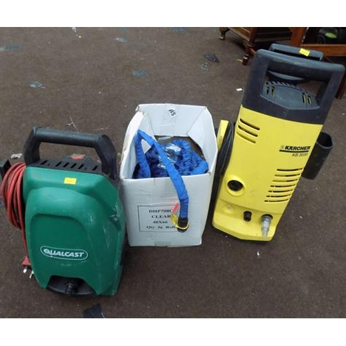 500 - 2 pressure washers and hose...