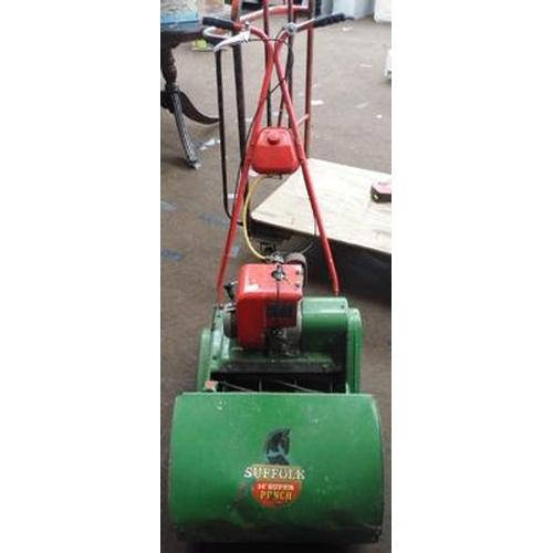 485 - Vintage Suffolk punch mower...