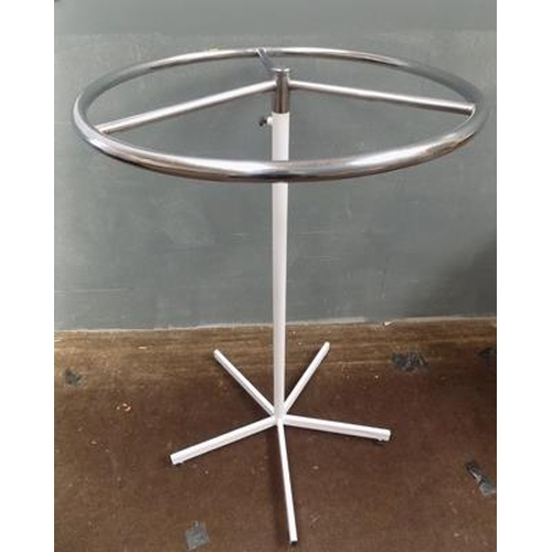 508 - Free standing clothes rail - approx. 45.5 inches high...
