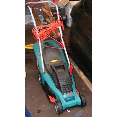 486a - Bosch electric lawnmower w/o...