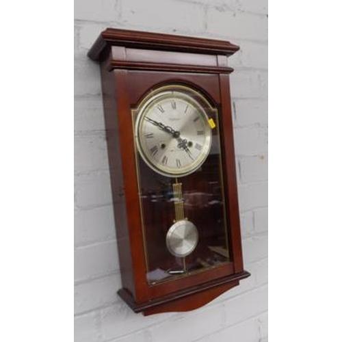502 - Waltham wall clock...