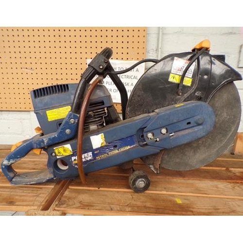 484 - Petrol stone cutter Powercraft 4387...