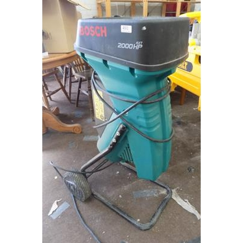 493 - Bosch 2000 chipper/shredder...