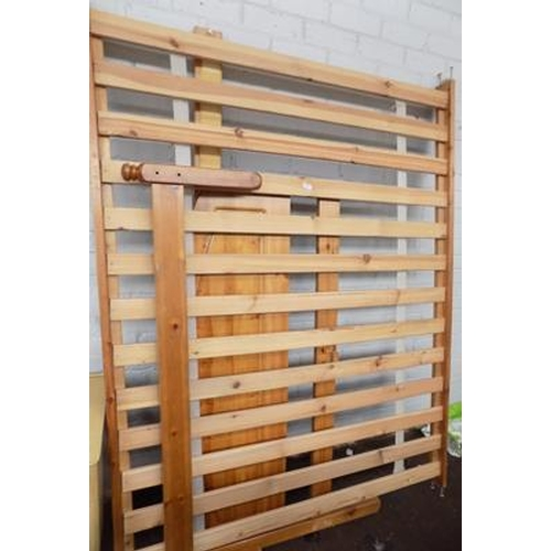 503 - Pine double bed...