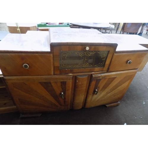 515 - 1930's drink cabinet...