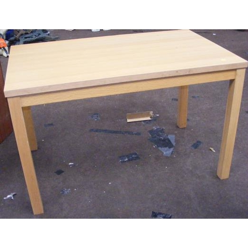521 - Beech table...
