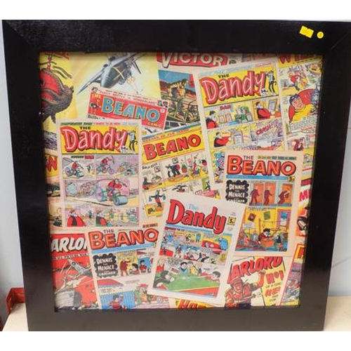 26 - Framed Comic picture...