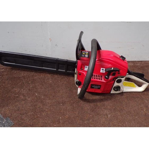 482 - Eckman petrol chainsaw VGC - good W/O - only used 3 times - surplus to requirements...