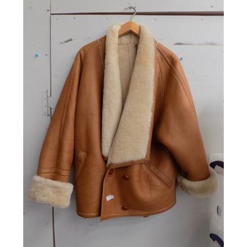 508 - Sheepskin jacket size M - Gavin Brown of London...