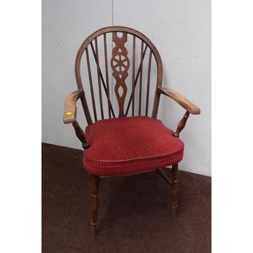 530 - Oak Windsor back chair...
