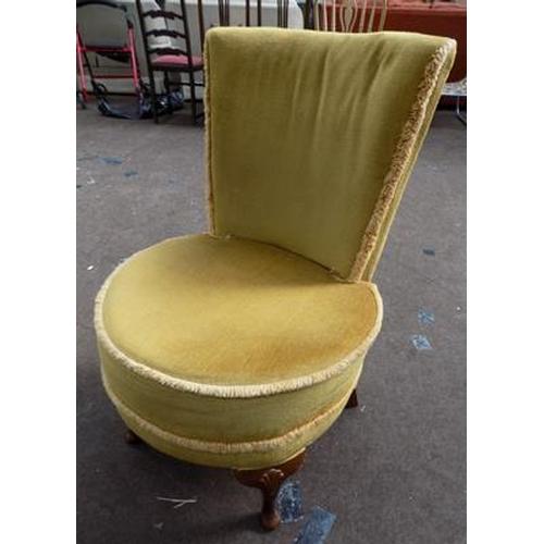 536 - Vintage bedroom chair...