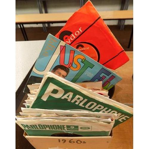 54 - Box of 1960's vinyl singles...