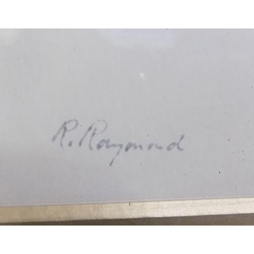 10 - Pair of R. Raymond signed watercolours...