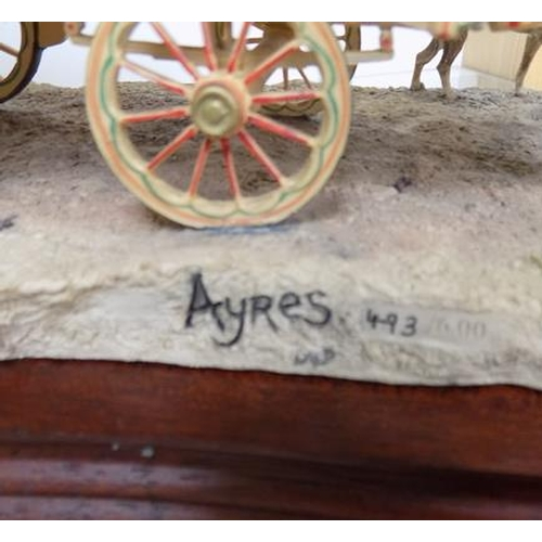 25 - Border fine arts 'Arriving at Appleby' 493/600 (no cert) - by Roy Ayres...