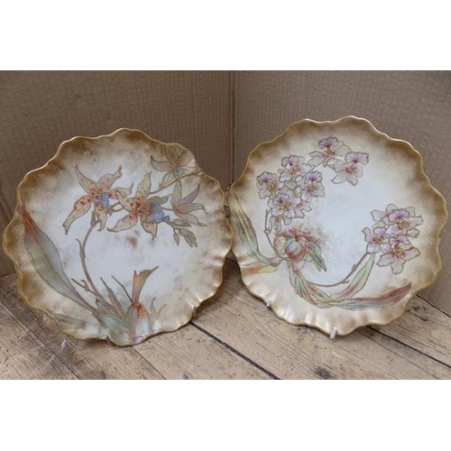31 - Pair of Royal Doulton Burslam plates RN72067 - no damage found - approx. 8