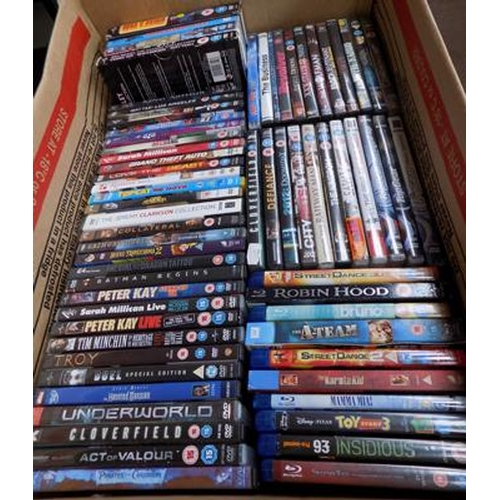 40 - Large box of bluerays & DVD's...